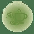 Caffé biologioco e una selezione di Thè free 24H